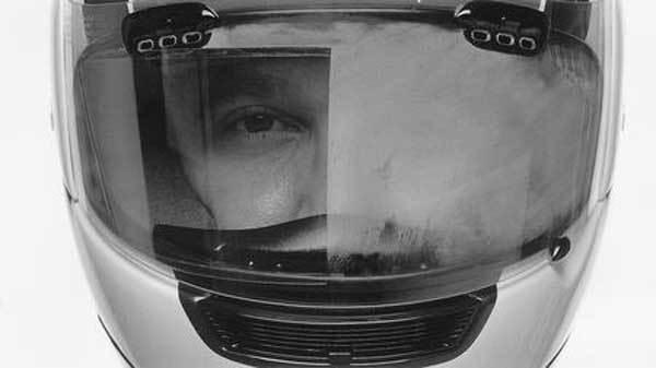 casco empañado