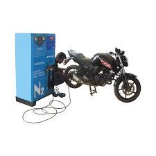 nitrogeno en llanta de moto