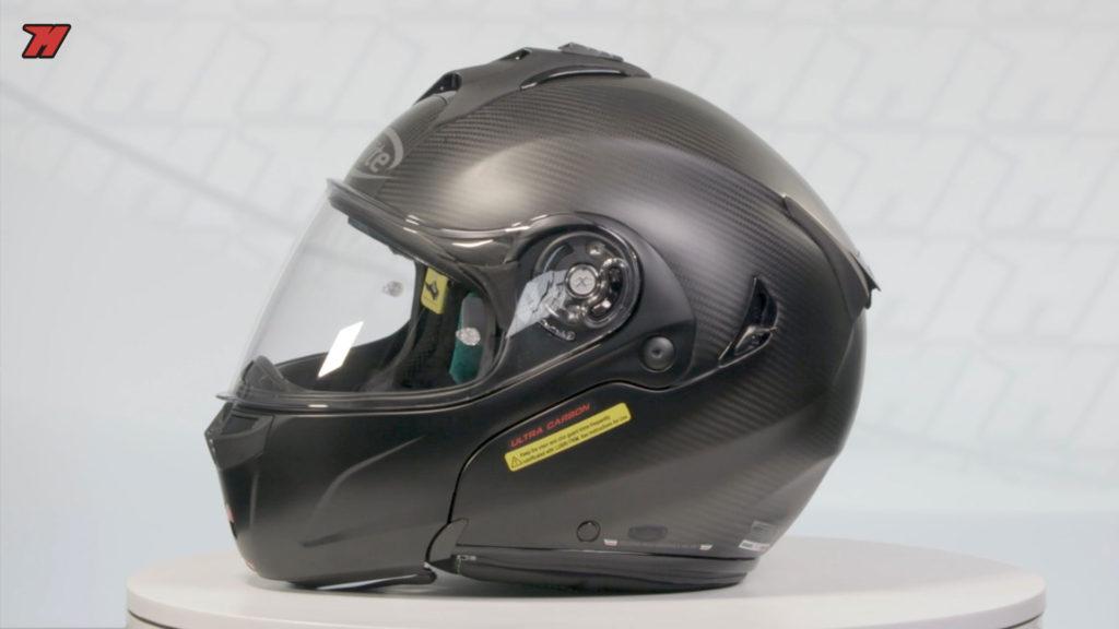 casco fibra de carbono