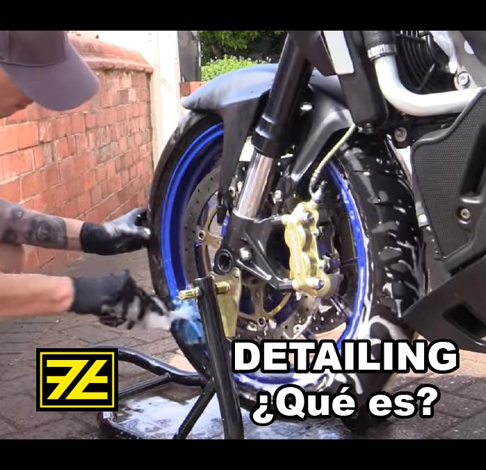 ¿Sabes qué es un detailing (detallado) de tu moto?